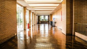 maintaining commercial wood flooring
