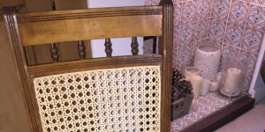 re-caning furniture