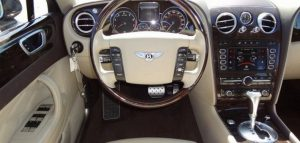 bentley flying spur leather interior