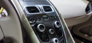 aston martin vanquish leather interior