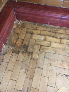 maintaining parquet wood flooring