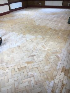repair damaged parquet wood flooring