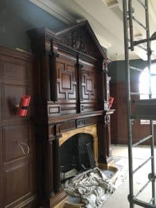 restoring old fireplaces in listed buildings