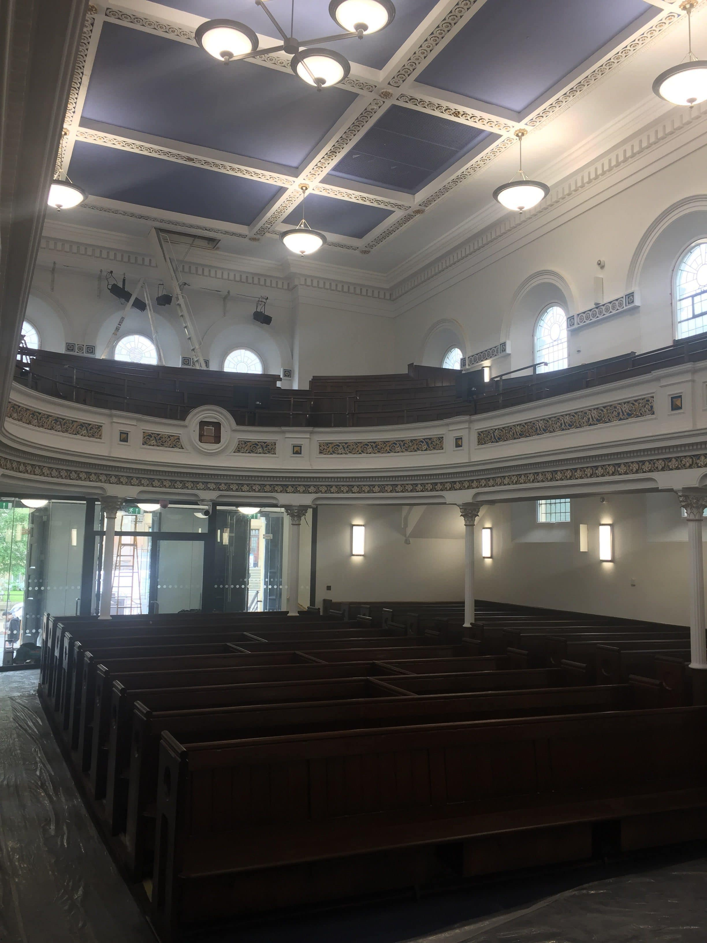 synagogue after french polishing